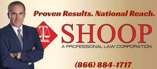 Product liability lawyers at Shoop | A Professional Law Corporation